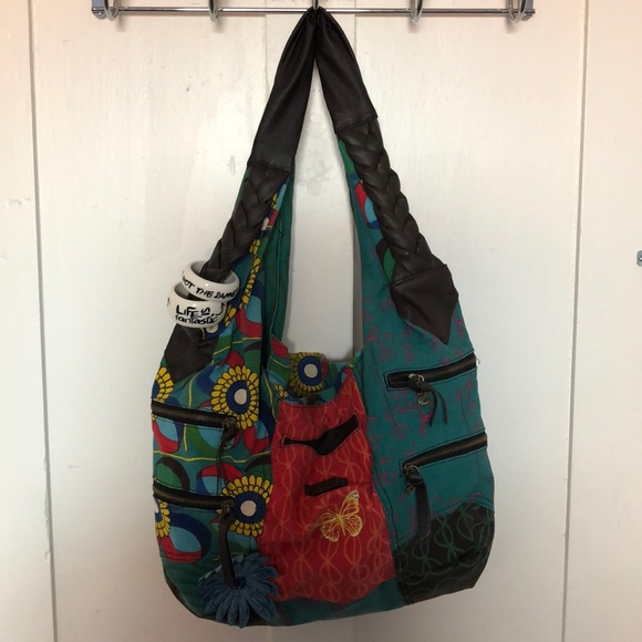 Desigual colourful purse